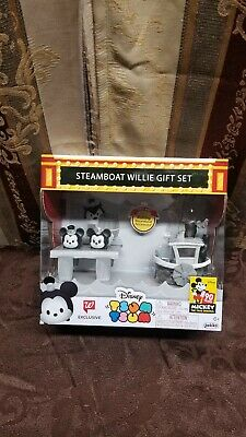 Disney Steamboat Willie GiftSet Walgreen Exclusive 90th Mickey Mouse Collectable