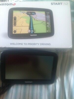 TomTom Start 52 5-Inch SAT NAV with Western Europe Maps and Lifetime Map Updates