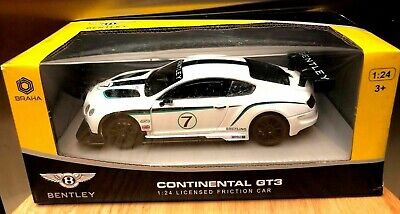 Braha Bentley Continental GT3 1:24 Licensed Friction Car ***RARE***