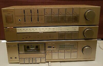 4 Piece Vintage Marantz Stereo System [Gold Edition]