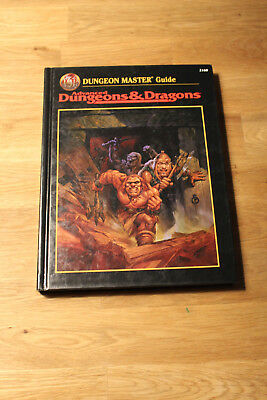 Dungeon Master Guide (AD&D 2nd ed, black cover, TSR #2160)