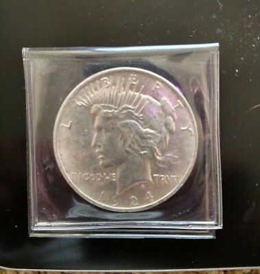 1924 PEACE SILVER DOLLAR - Uncirculated Mint State MS/BU Condition