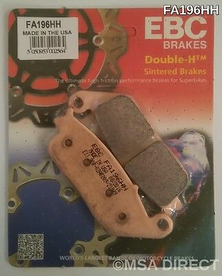 92-05 FA196HH sintered type Honda CB250 /'Two Fifty/' front brake pads