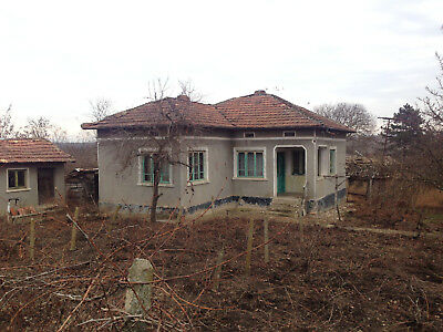 House property home real estate 1800 sq.m plot Dobrich area overseas Bulgaria