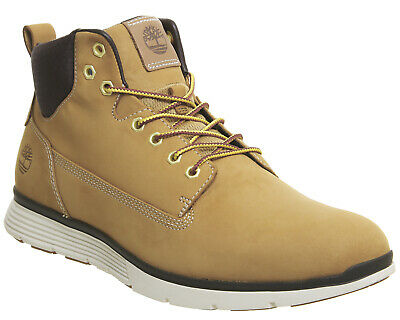 16ba8215be1c Mens Timberland Brown Leather Lace Up Ankle Boots Size UK 8  Ex-Display