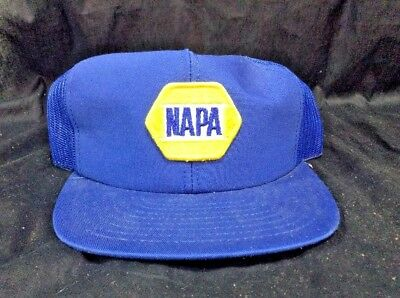 ba070172326 NAPA VINTAGE AUTO Parts Patch Snapback Louisville USA Ball Cap Blue ...