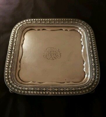 Tiffany & Co 925 Sterling Silver Tray