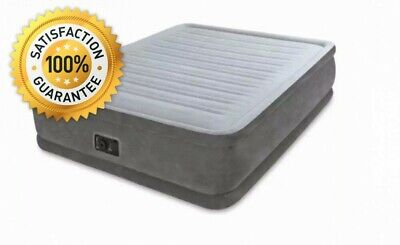 Intex 64414BS Queen Dura-Beam Series Elevated Airbed with BIP