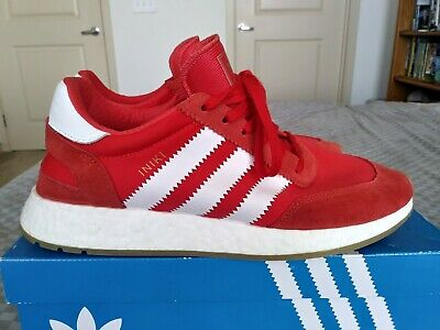 official photos f1816 871f0 Adidas Iniki Runner I-5923 Boost - Red White Gum - Men s Size