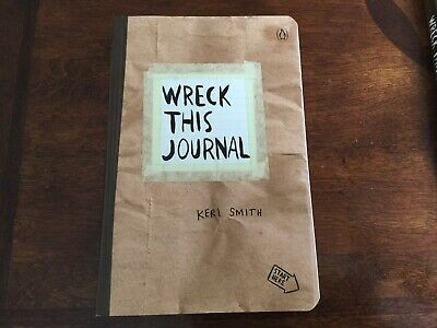 BRAND NEW - Wreck This Journal PAPER BAG Expanded Edition by Keri Smith MAIL IT