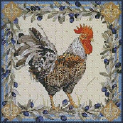Rooster 2 - Cross Stitch Chart/Pattern/Design/XStitch