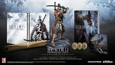 Sekiro Shadows Die Twice Collector's Edition PS4