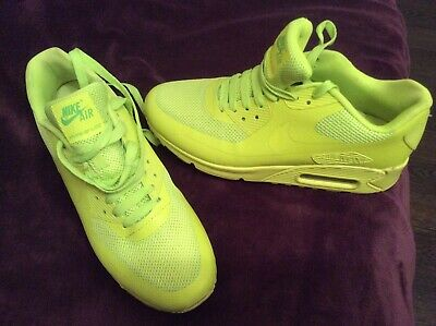 finest selection 9c019 519c0 Nike Air Max 90 Hyperfuse Premium Volt 454446-700 Size Uk 6