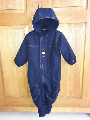 9907f353f BABY TRESPASS 6-12 Months Snowsuit and Jacket Pramsuit - Boys Girls ...