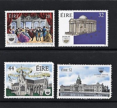 Ireland (1991) – Mnh Set Dublin European City Of Culture