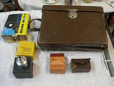 Polaroid Land Camera Model 95 with case and Extras