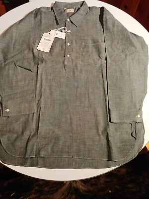 LVC 1920s Sunset Chambray XL Popover Men's $385 NWT Old West NOT DISTRESSED