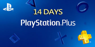 Ps Plus 14 Day -Ps4-Ps3-Ps Vita - Gratis Ps Now 7 Days (No Code)