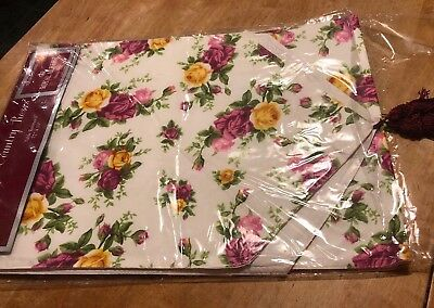 "Royal Albert Old Country Roses Table Runner 72 x 13"" —DISCONTINUED"