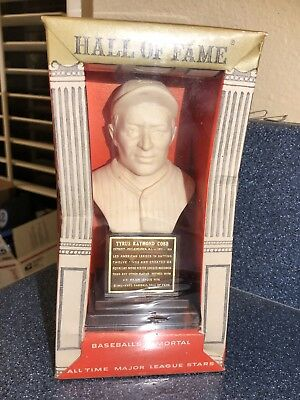 MINT IN BOX Ty Cobb 1963 Hall Of Fame Statue Bust Vintage Detroit Tigers Sealed