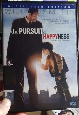 The Pursuit of Happyness (DVD, 2006) Free Shipping with Tracking - Will Smith