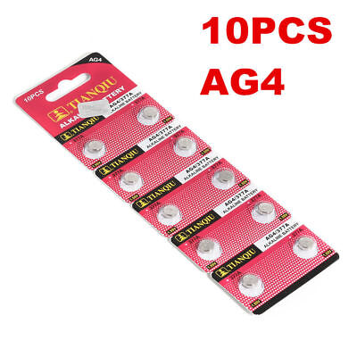 10 Pcs/lot AG4 377A 377 LR626 LR66 Watch Coin Battery for Watch Lighter Clocks