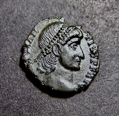 CONSTANTIUS II Vows to Gods & People, Imperial Roman Coin