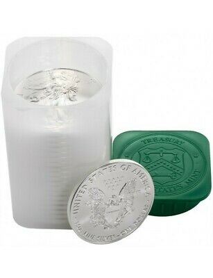 1 oz Silver American Eagle Coin Stack of Bullion 0.999 Pure (20) Coins!