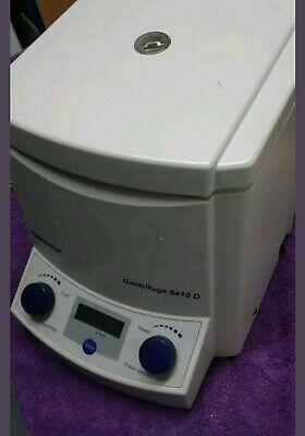 Eppendorf 5415D centrifuge with Rotor