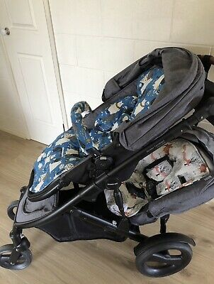 Pram Liners, Belly Bar & Strap Covers To Suit Strider Compact