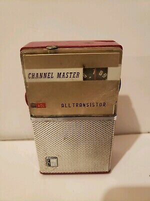 Vintage 1960s Channel Master Model 6503 Transistor AM Radio RARE Japan WOW!!