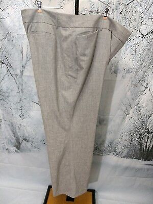 44c890357a9 Cato Classic Women s Plus Size 28W Gray Pants Slacks Trousers Stretch Long