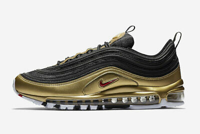 de2bcfef85 2018 NIKE AIR Max 97 Metallic Gold OG Retro Italy IT Size 9.5 ...