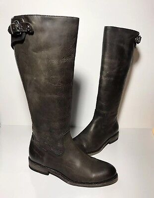 b6441437027 ... Black EXT Wide Calf Leather 3475417 Size 10.  189.00 Buy It Now 11d 6h.  See Details. Women s Frye Jayden Buckle Back Zip Boots Slate Size 7 B