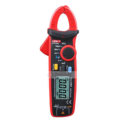 UNI-T DIGITAL UT210E 100Amp 600V AC DC CLAMP METER Multímetro True RMS