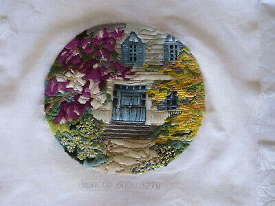 Craft Long Stitch Craft Semco 6000 3279 Completed House