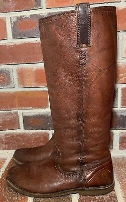 1512a9874fd3f FRYE WOMENS ENGINEER Gaucho-77400 Motorcycle Boots Size 10 (218645 ...