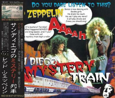 NEW LED ZEPPELIN SAN DIEGO MYSTERY TRAIN  3CD Free Shipping ##Mm