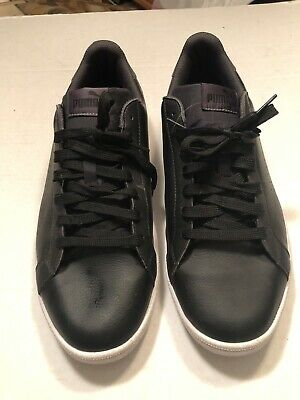 c13aa0557752 PUMA MENS SMASH Leather Classic Sneaker Black Size 11 -  19.99 ...