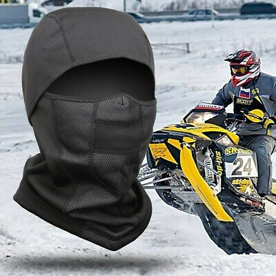 |Ultimate Thermal Retention| Balaclava Soft Fleece Motorcycle Full Ski Face Mask