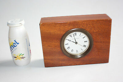 Matthew Norman Desk Alarm Clock - Swiss Made - Working