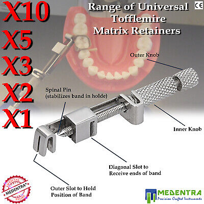Deal of Tofflemire Universal Matrix Retainers Band Holder Restorative Retainer