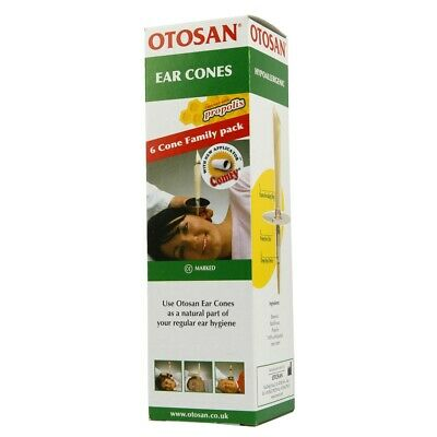 Otosan Ear Cones 6 Pack (3 Pairs)