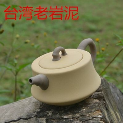Rare Antique Chinese Old Yixing Old Rock Mud Bamboo Section  Teapot