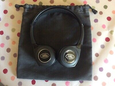 Genuine Land Rover Wireless Headphones with Storage Bag