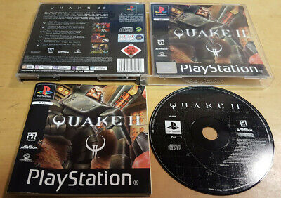 QUAKE II 2 for SONY PS1, PS2 & PS3 COMPLETE by ID WITH FREE UK P&P
