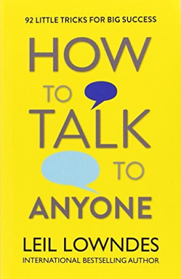 How To Talk To Anyone (UK IMPORT) BOOK NEW