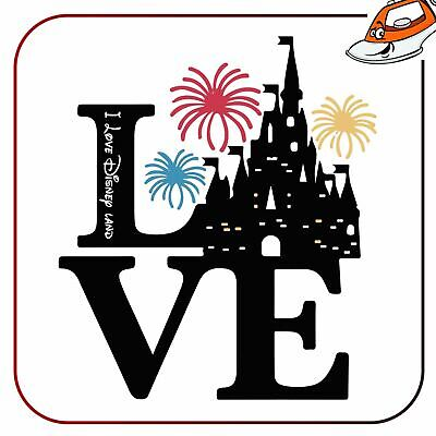 Iron On T Shirt Transfer Love Holiday Trip Stag Hen Party Sticker Vinyl Printed