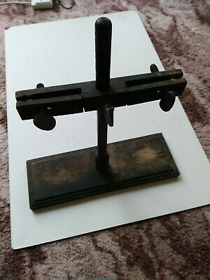 Vintage Wooden Laboratory Clamp Stand School Science