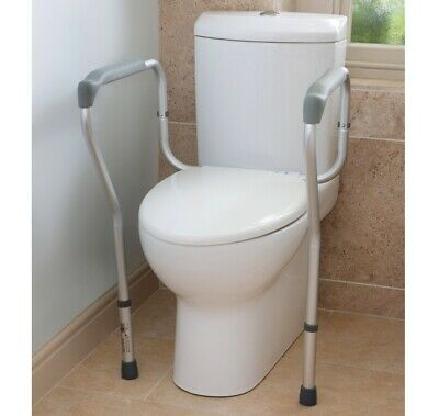 Toilet Surround Frame Mobility Support Safety Rail Helps You Stand Up Adjustable